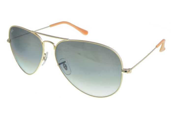 RB3026 Aviator Large Metal 001-3F1